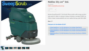 FLOOR CLEANING MACHINES // MACHINES A NETTOYAGE DE PLANCHER