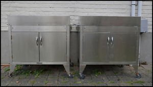 FREE stainless steel cabinets x 2