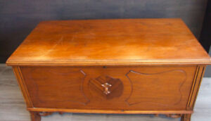 Antique Cedar Lined Hope Chest