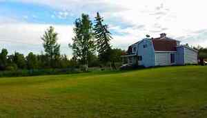 Large nearly 80 acre farm house for sale - UNORGANIZED TOWNSHIP