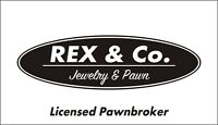 Rex&Co is now buying or pawning cameras and camcorders