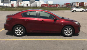 2010 Mazda 3 great condition – low KM, extra clean