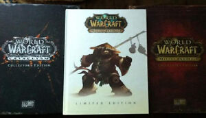 World of Warcraft collectors Edition Cataclysm\Mists of Pandaria