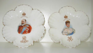 Royal Doulton King Edward & Alexandra 1902 Coronation dishes