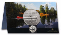 Royal Canadian Mint 2011 Canoe Coin with Certificate of Auth..