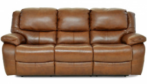 Lazyboy Leather recliner and 3 seater leather lazyboy