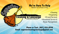 Cleaning, Organizing & Concierge Services