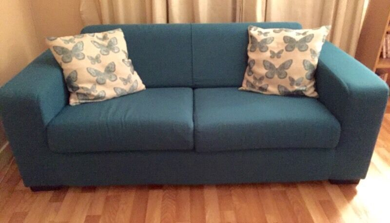 Large Teal Sofa 163 150 In Dundee Gumtree