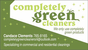 Completely green cleaners St. John's Newfoundland image 1