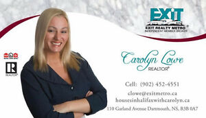 CAROLYN LOWE ~ EXPERIENCED AGENT EXCEEDING YOUR EXPECTATIONS!