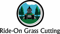 Ride-On Grass Cutting --- Starting at $25/Cut