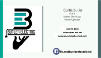 Butler Electric Certified FSR A,  Qualified, Bonded & Insured