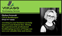 Tailored bookkeeping service.