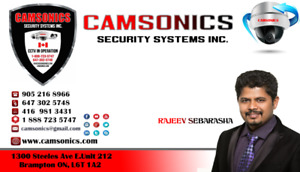 SECURITY SYSTEM HOME OR BUSINESS SURVEILLANCE CAMERA  CCTV