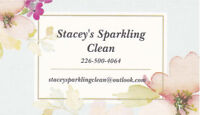 ~Stacey's Sparkling Clean~