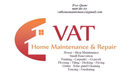 Home and maintenance and repair
