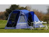 Berghaus 4 man tent (Air4) used once