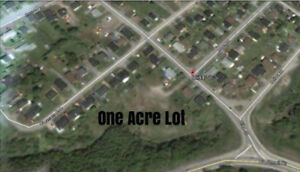 1 ACRE LOT. CENTRAL CORNER BROOK. GREAT PLACE TO BUILD IN 2019