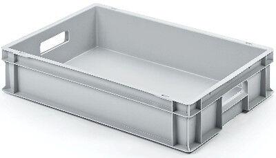 ehälter | Lagerbox | Transportbox | Kunststoff | 60×40×12cm (Lagerbehälter Kunststoff)