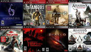 PS3 Games For Sale or Trade - Diablo 3, RE6, Dead Island, more