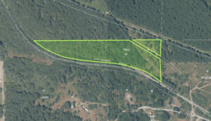 9.84 ACRE PARCEL WITH POWER JUST WEST OF DUNCAN!