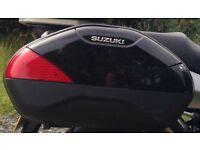 Suzuki right side pannier