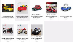 Perfect gifts for Xmas - Die Cast Models