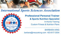In-Home Certified Professional Personal Trainer - Barbara King