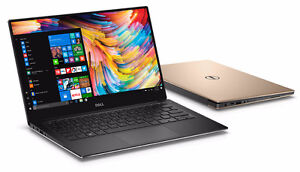 "New Dell XPS 13 9350 Laptop 13.3"" QHD+ Touch Display 6th Gen i7 8GB RAM 256GB PCIe SSD Webcam Win10 Home"