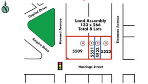 Burnaby Land Assembly - 5509 HASTINGS ST BURNABY