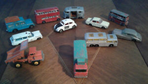 Vintage Lesley and tootsies toy cars