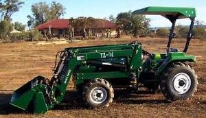 45hp tractor with 4 in 1 front end loader Stirling North Port Augusta City Preview
