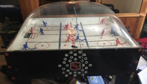 Ancienne table de hockey Super Stick Hockey Carrom Sports!