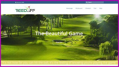 Golf Products Websiteupto 2715 A Salefree Domainfree Hostingfree Traffic
