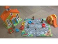 Happyland pre-school playset