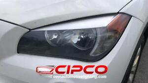 2012 BMW X1 Headlight, Headlamp Assembly Replacement | Halogen Type Refurbished | Clean & Undamaged / Left = Driver Side