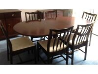 Stag Minstrel Dining Table and Chairs