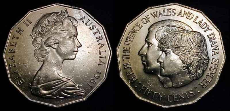 AUSTRALIA 1981 50 Cents BU
