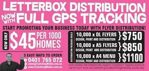 LETTERBOX DISTRIBUTION - WITH FULL GPS TRACKING! Sydney Region Preview