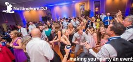 Nottingham DJ providing mobile dj entertainment for weddings, parties & special occasions