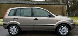 *ONLY 38K MILES / 1 PREVIOUS KEEPER* Ford Fusion 3 16V 5dr Hatchback (Fiesta Focus)