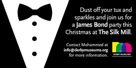 James Bond Theme Christmas Party