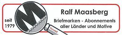 Maasberg-Briefmarken