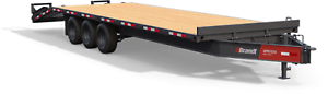 Brandt 30' Tridem Pintle Trailer: 11-Ton Series