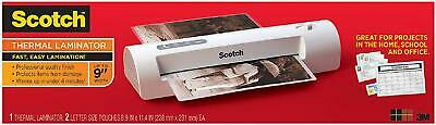 Scotch Thermal Laminator 2 Roller System For A Professional Finish Laminate Up