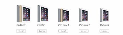 APPLE iPad's Air/air2/mini/2/3- not working,issues,water damage West Perth Perth City Preview