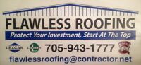 ~ COMMERCIAL  FLAT  ROOF  REPAIR  BY FLAWLESS  ROOFING~