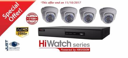 4 x 2MP Full HD CCTV Package –Fully Installed  1190$