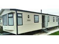 8 berth caravan to hire available 7th July for 7 nights