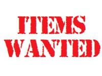 **WANTED ALL OLD UNWANTED ELECTRICAL ITEMS